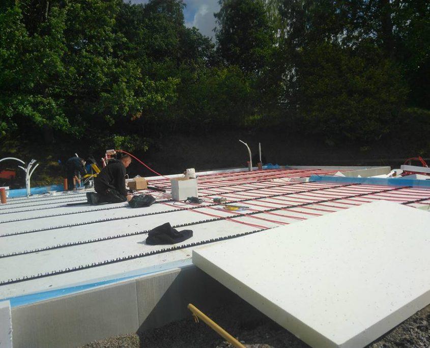 Husbyggnation i Ulricehamn